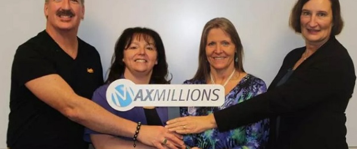 Calgary co-workers claims $1 million Lotto Max prize in disbelief