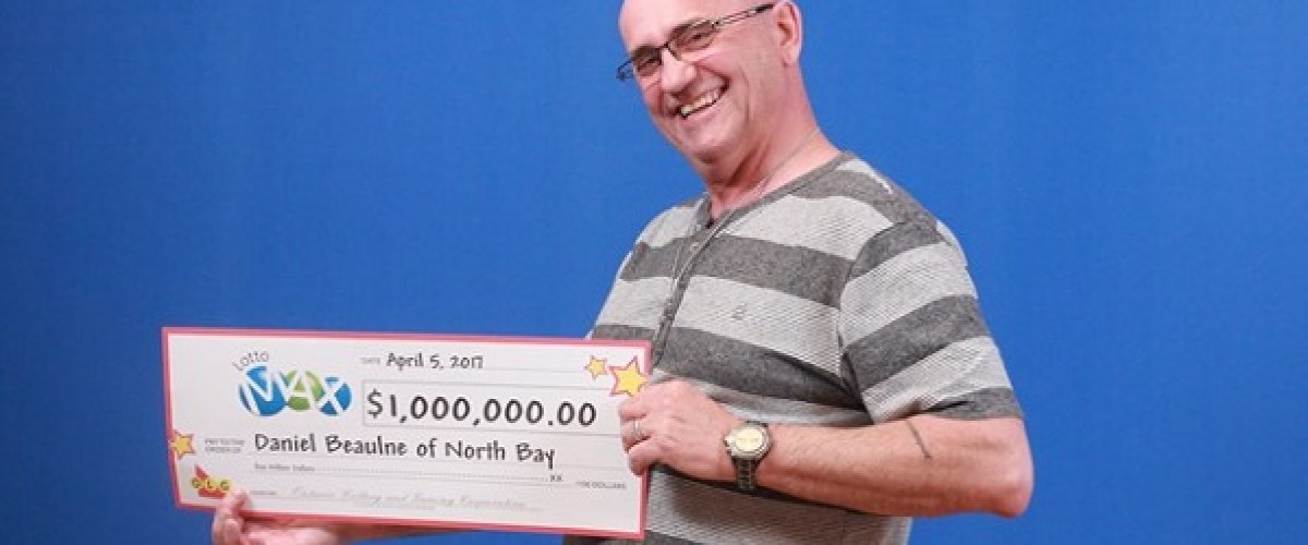 """Ontario Lotto Max winner """"cried like a baby"""" after $1 million win"""
