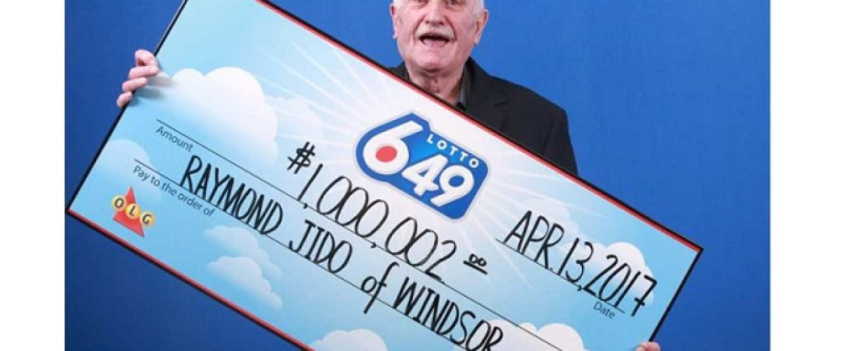 Jaw drops as Ontario man wins $1 million Lotto 649 prize