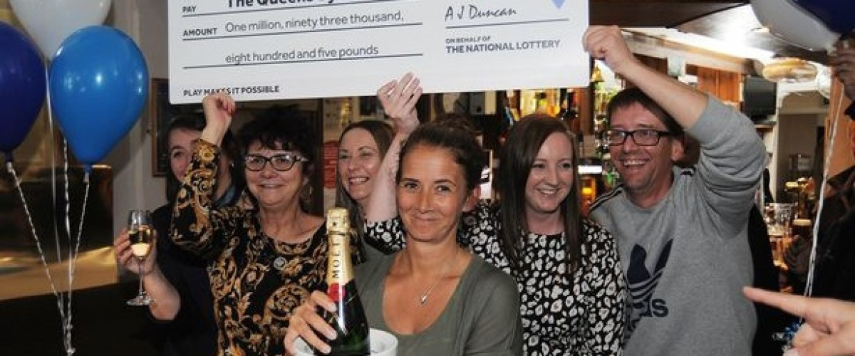EuroMillions syndicate's winning ticket is in a plant pot