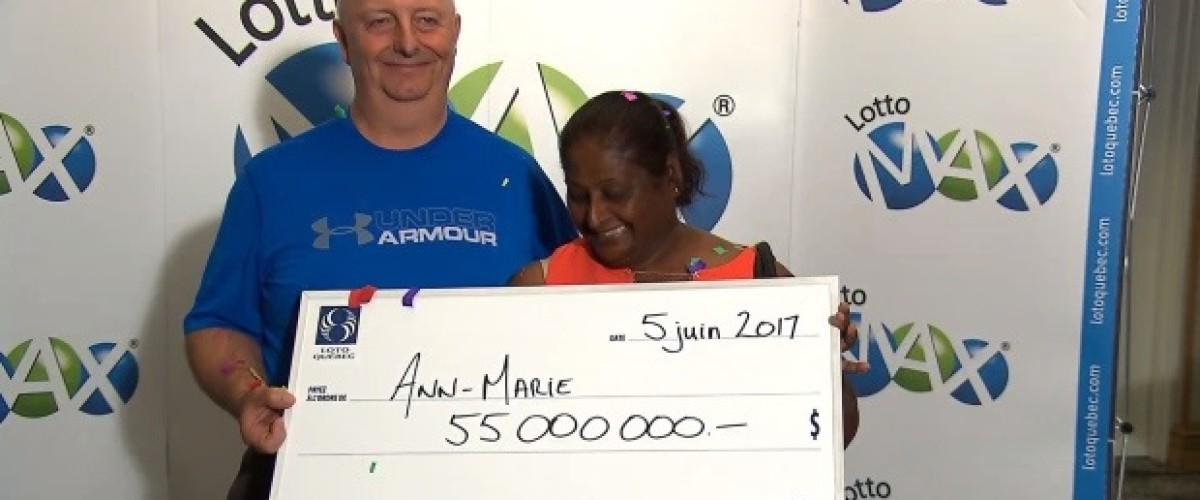 Québec couple will buy better food thanks to $55 million Lotto Max win