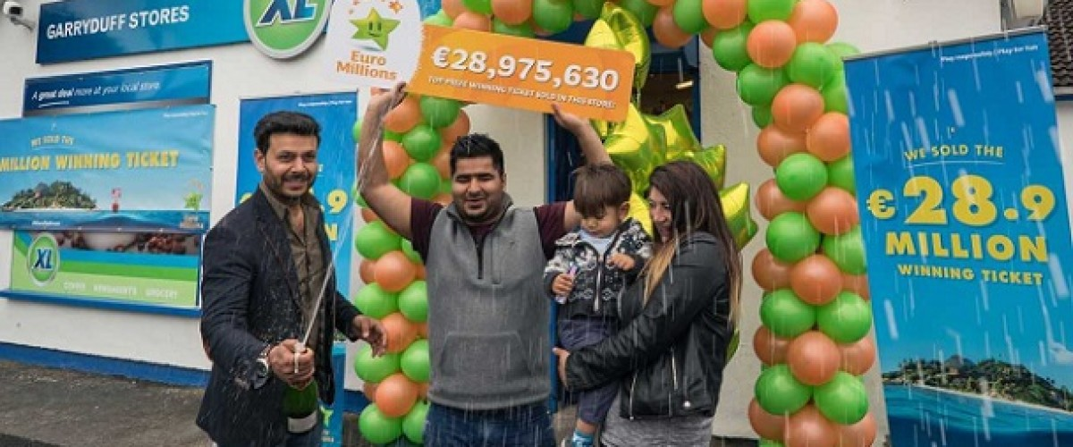 Syndicate finally claims €29m EuroMillions jackpot win