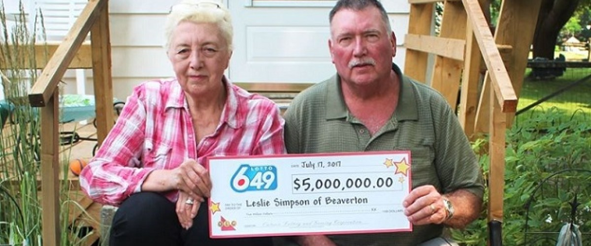 Ontario Lotto 649 winner plans to leave Canada for the first time in his life