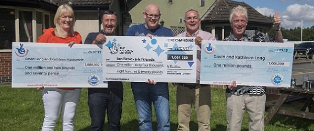 Third £1m EuroMillions win at the Mallard pub