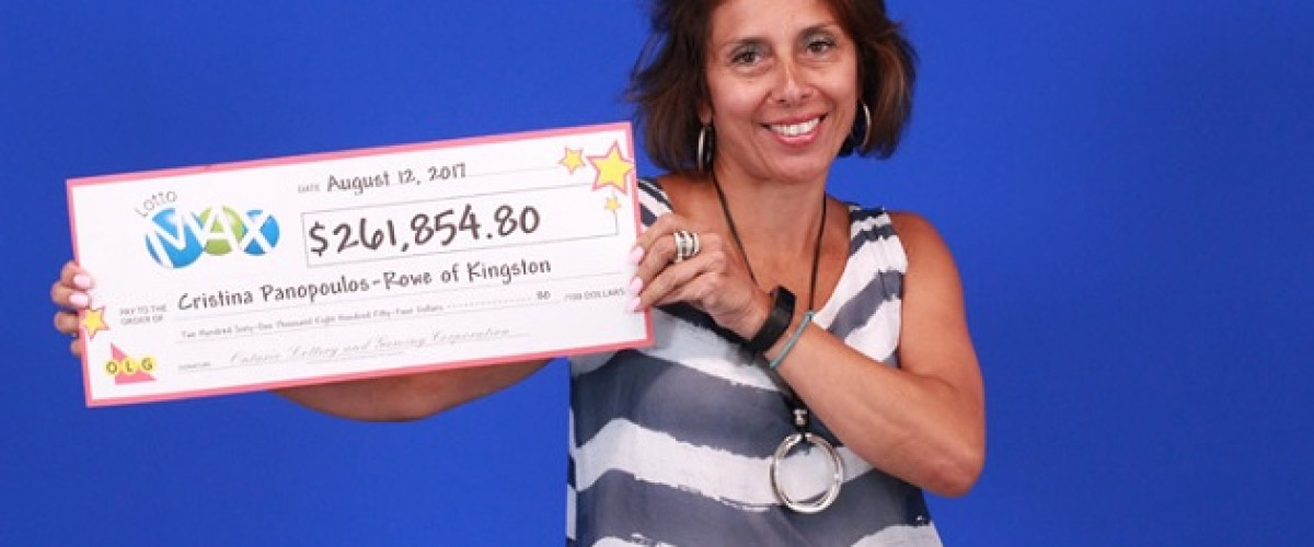 Ontario woman wins huge Lotto Max prize as she jokes about buying a boat
