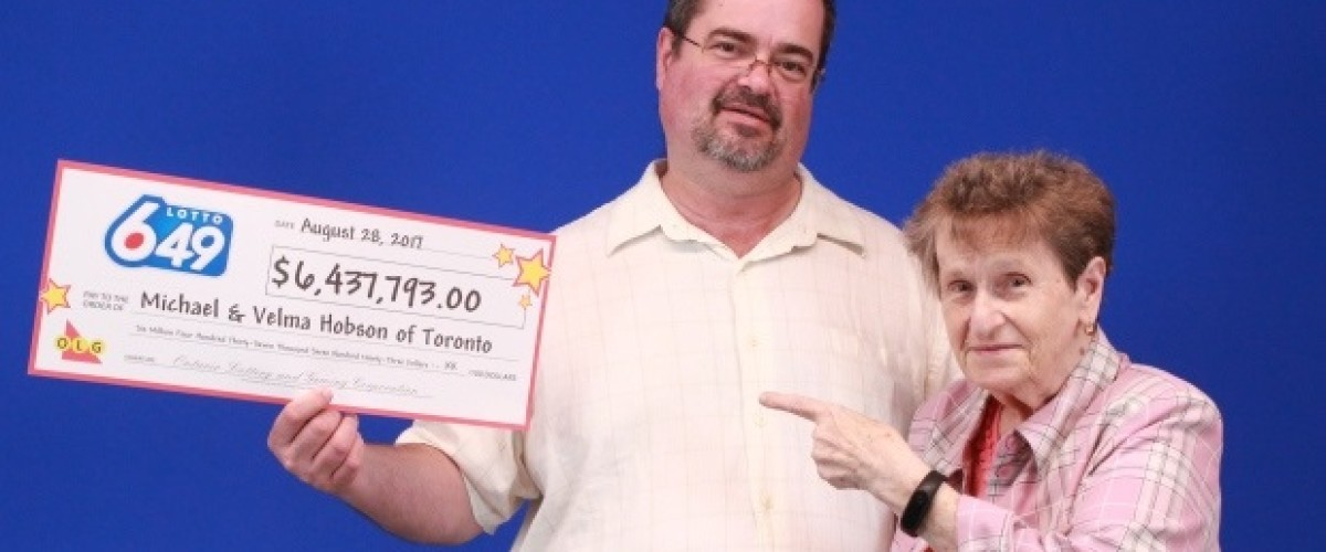 Toronto mother and son plan to keep $6.4 million Lotto 649 win in the family