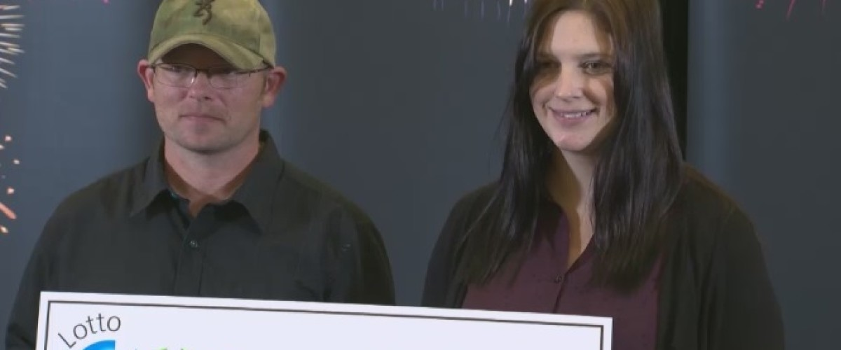 Canadian couple satisfied with $60,000 win won $60m Lotto Max jackpot