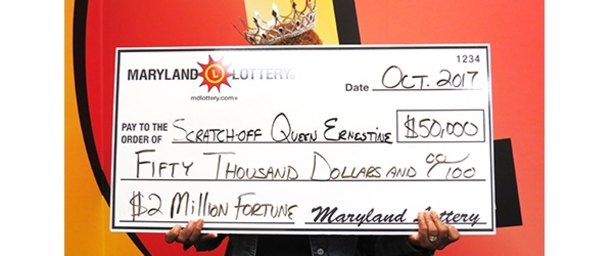 """Maryland """"Scratch Off Queen"""" wins her biggest ever jackpot after years of winnings"""
