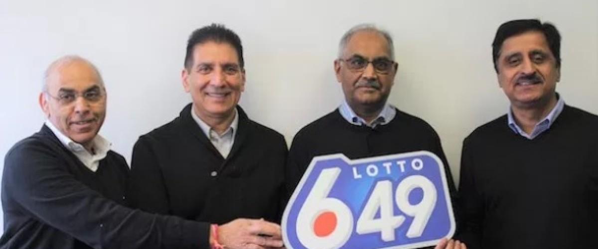 Long-time Winnipeg friends win $3.5 million Canadian Lotto 649 jackpot