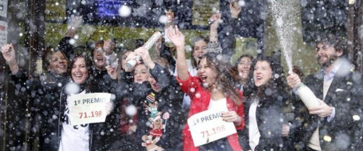 Lucky players all over Spain win top prizes in the El Gordo de Navidad draw