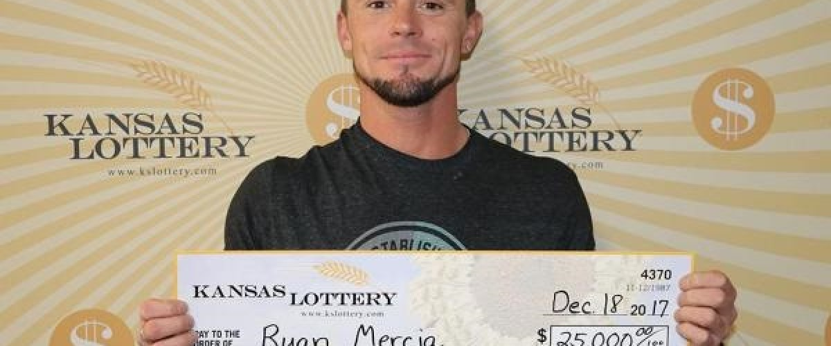 Birth of his daughter left man feeling so lucky he won $25,000 on a Kansas Lottery ticket