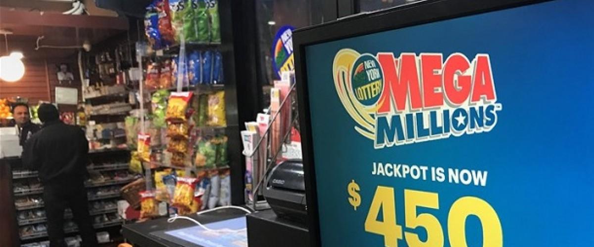 Florida ticket wins $450m Mega Millions jackpot