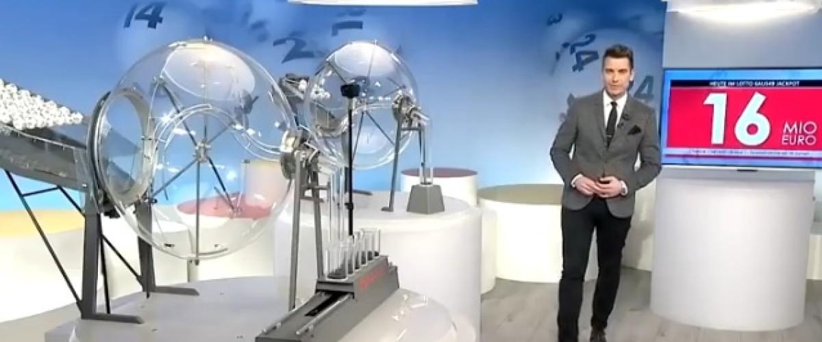 €16.244m Lotto 6 aus 49 jackpot won