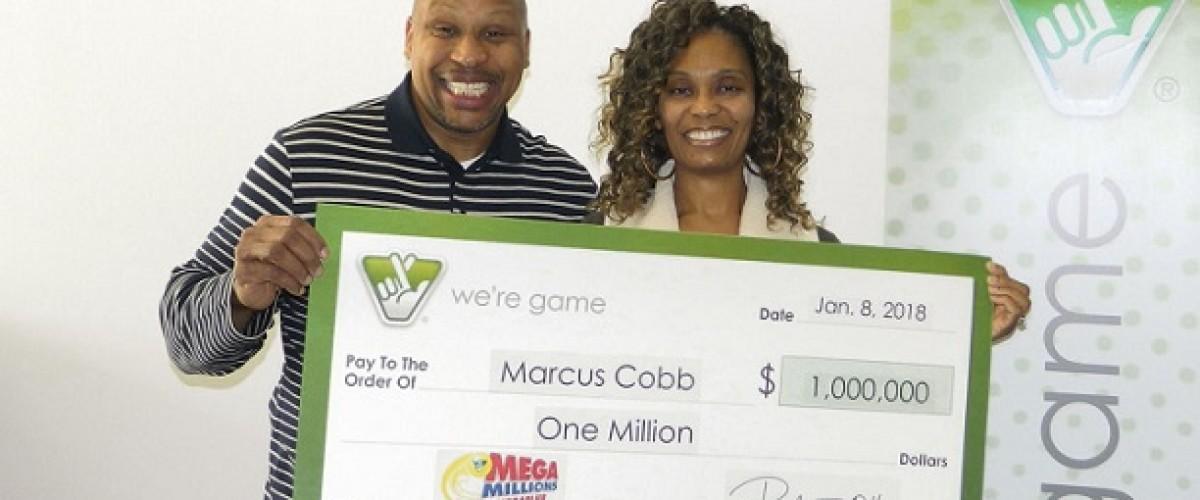 Virginia man wins $1 million on Mega Millions to go towards children's education