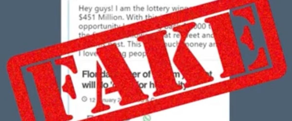 $450 million Mega Millions jackpot winner hit by fake Twitter accounts