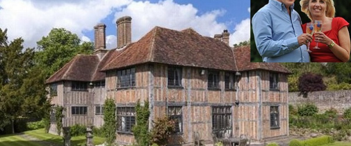 EuroMillions winnings couple now living in Tom Jones' old country manor house