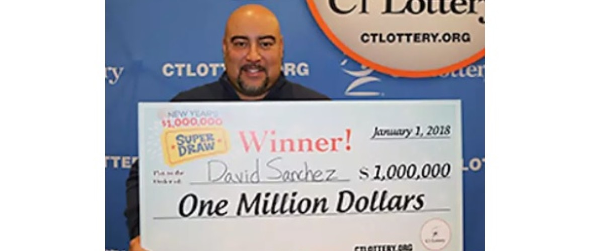 Gift from employees wins Connecticut boss $1 million on the CT Super Draw game
