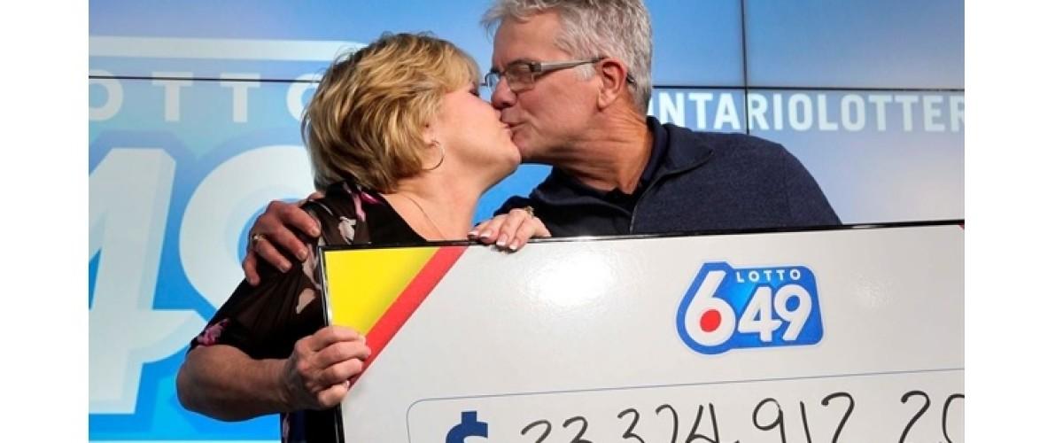 $23.3m Lotto 6/49 jackpot winner keeps news a secret from her husband