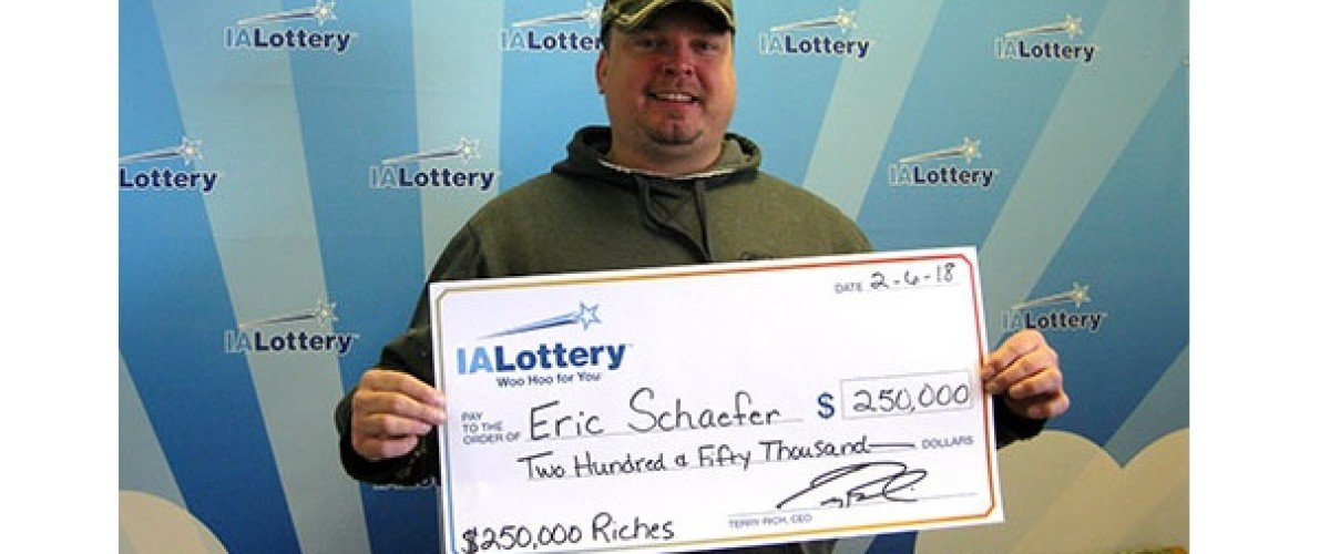 Iowa Lottery winner lost for words thanks to winning scratch off