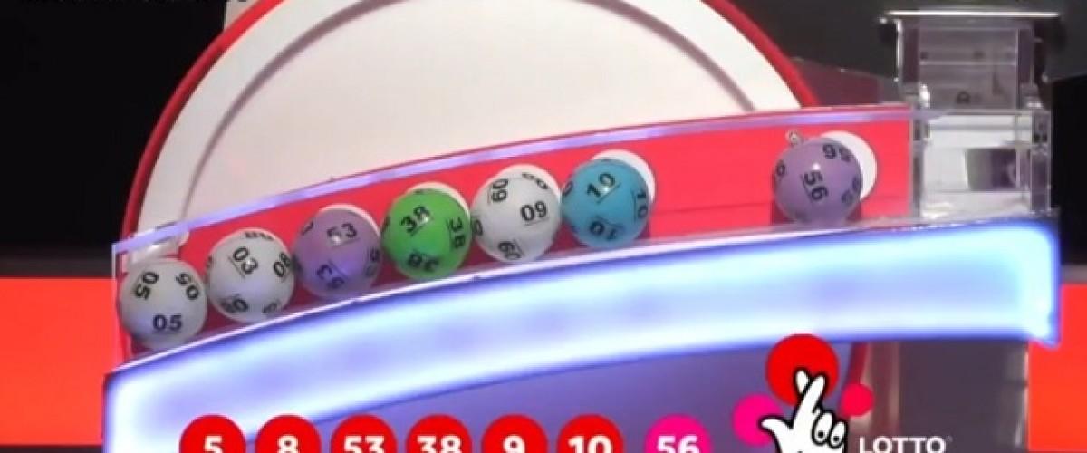 £18.139m UK Lotto jackpot won on Saturday
