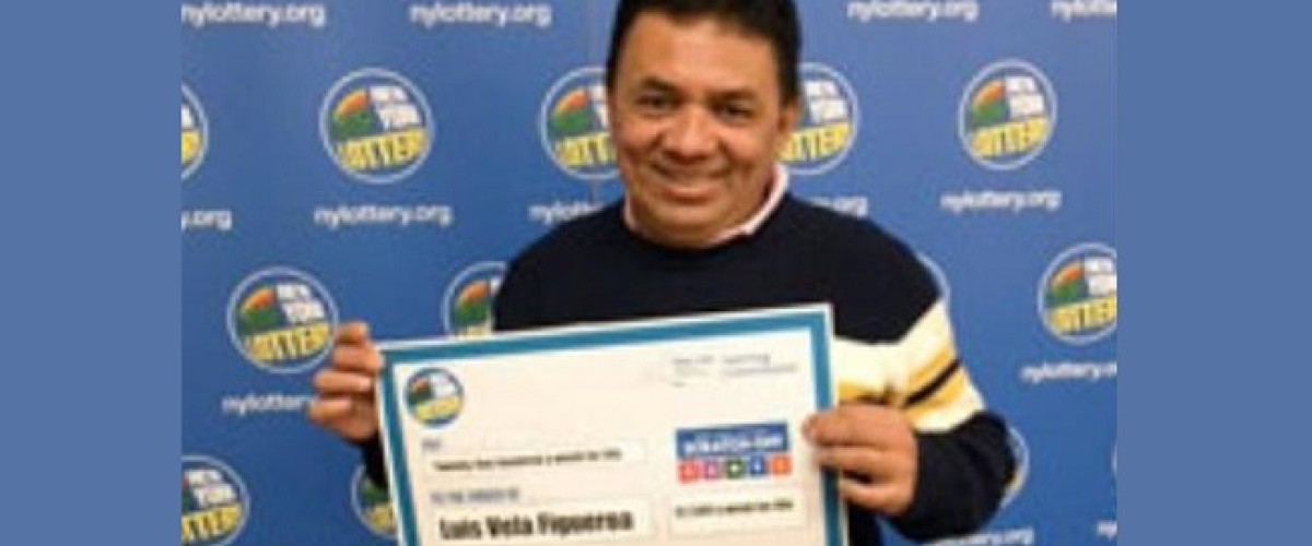 Prep cook delays collecting $2.5m scratch card win to train his own replacement