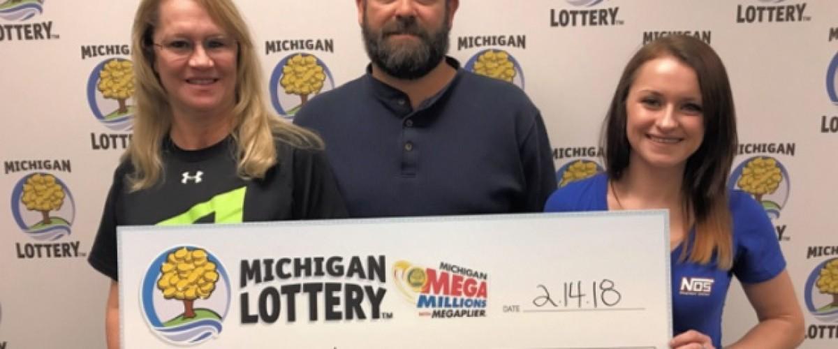 Michigan woman is million dollars richer thanks to Mega Millions lottery