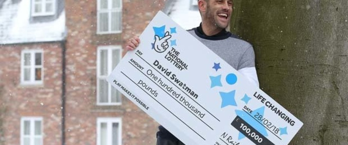 £100,000 scratch card winner thanks late grandfather for his win