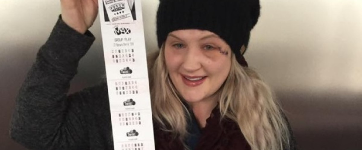 From near tragedy to life changing Lotto Max news