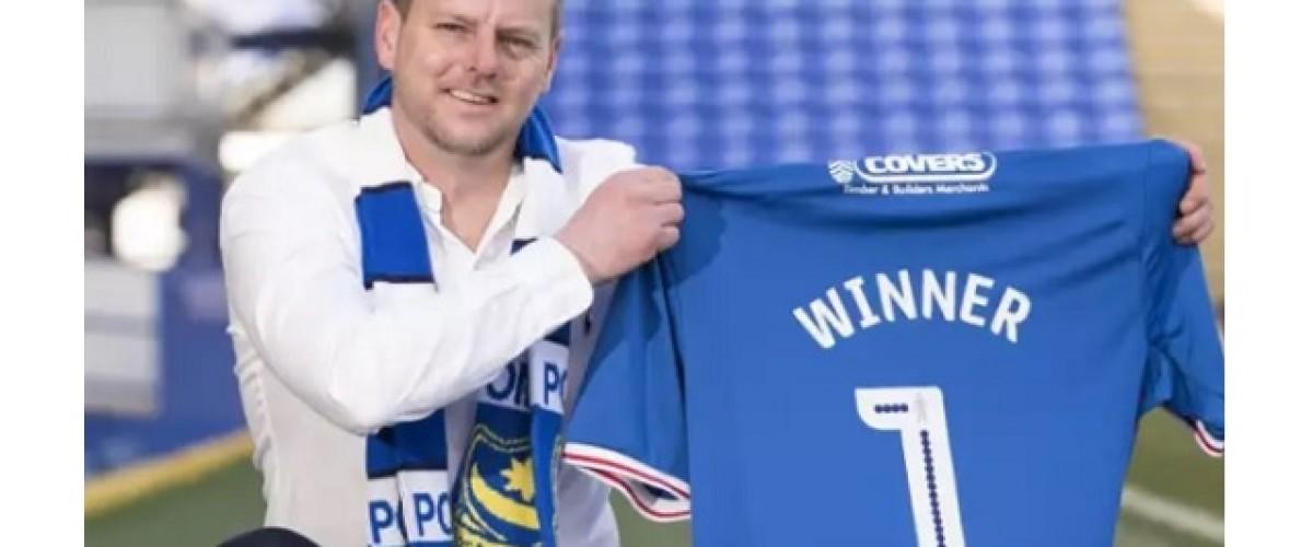 Posh seats next season for £1m EuroMillions winning Portsmouth fan