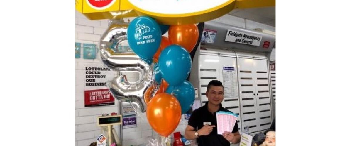 Western Australian news agency sell winning Lotto ticket thanks to lucky mascot