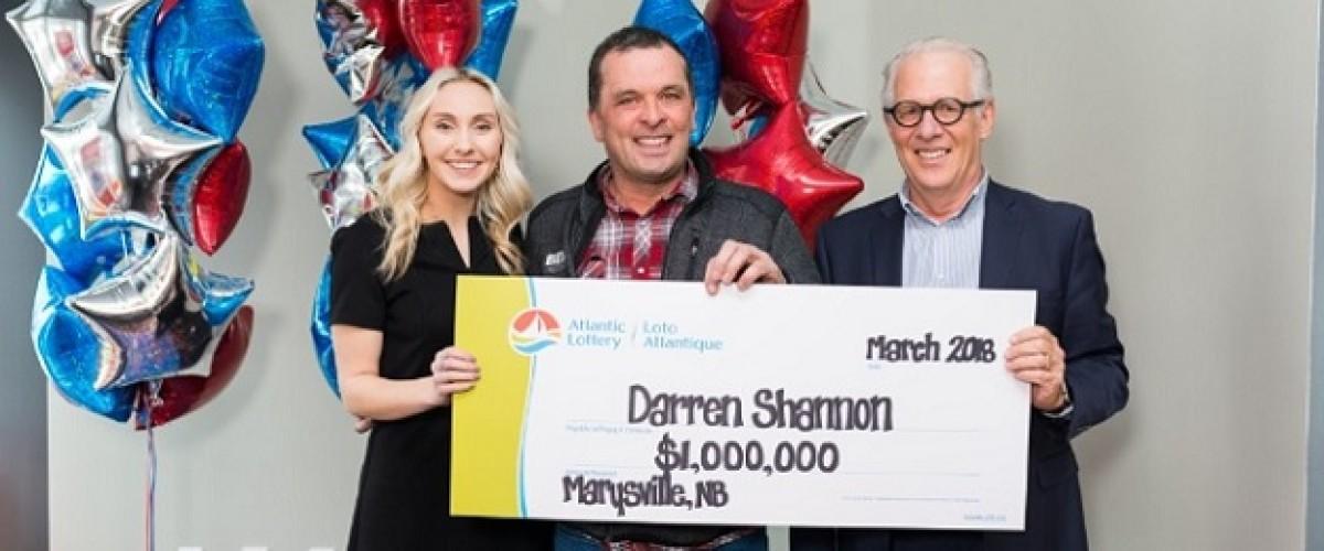 New Brunswick trucker claims $1 million Atlantic 49 win