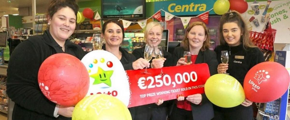 €250,000 lucky Irish Lotto Plus 2 winners claim their prizes