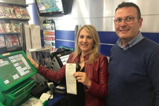 €130.2m SuperEnalotto jackpot won by ticket sold in Sicily