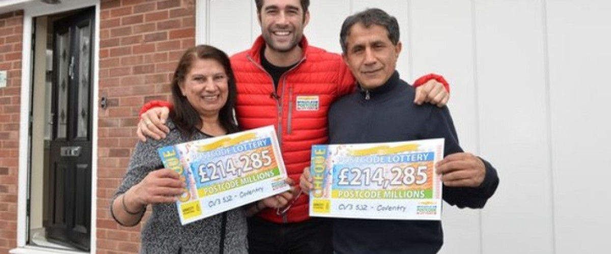 Holidays and new homes for People's Postcode Lottery winners