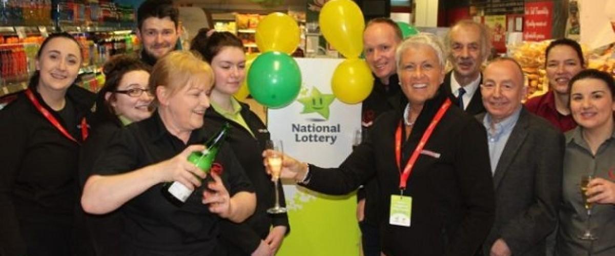 Irish Lotto retailer celebrated selling winning ticket after 28-year hiatus