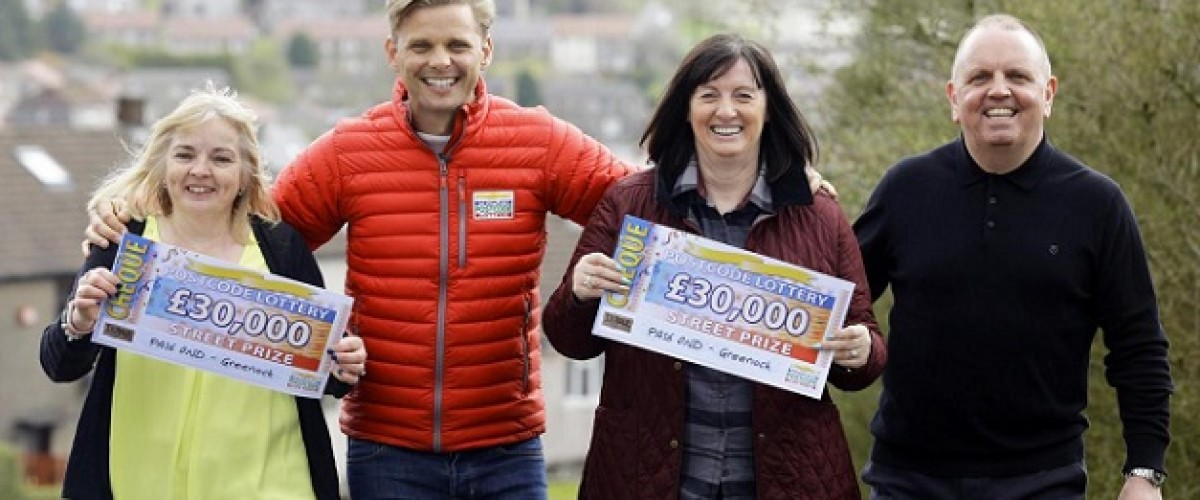 A new car and holidays lined up after £30,000 People's Postcode Lottery win