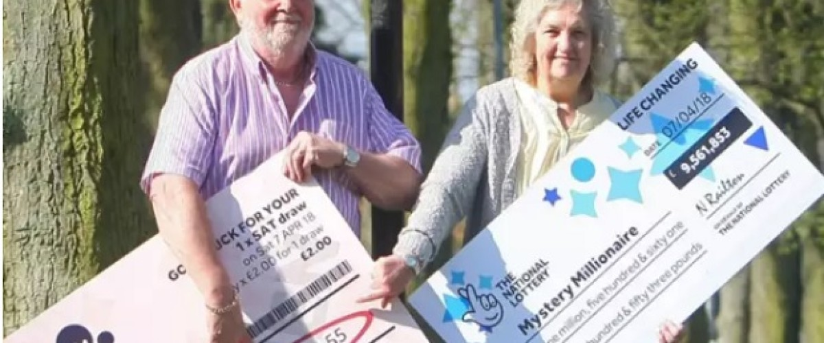 Couple still looking for bargains despite £4.5m UK Lotto jackpot win