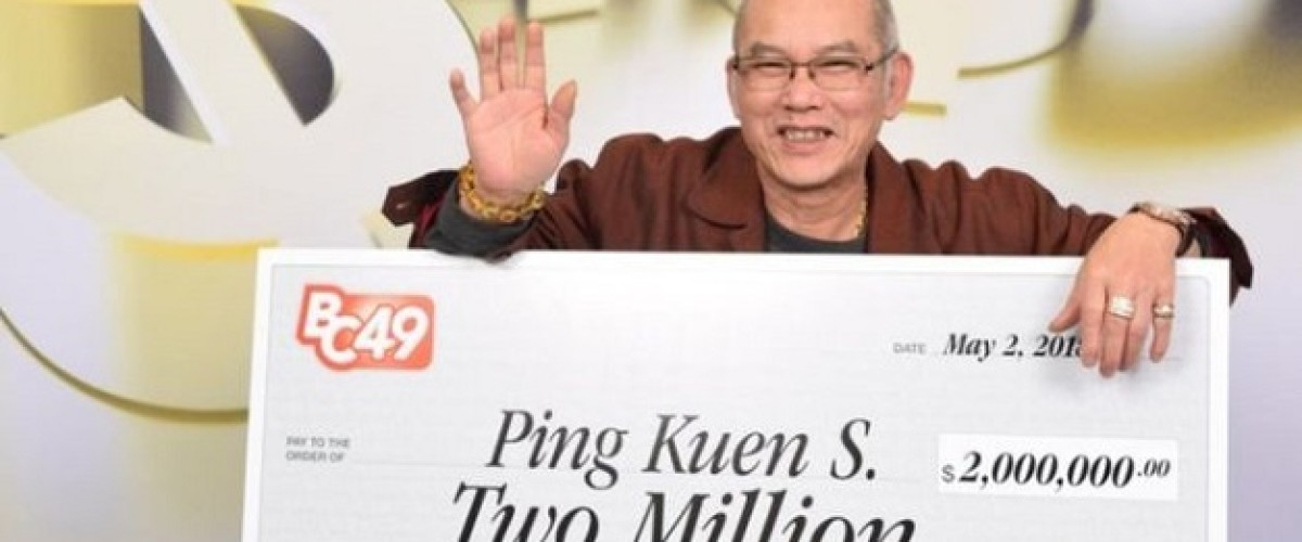 Vancouver man wins $2 million BC49 Lotto prize on his birthday as he retires