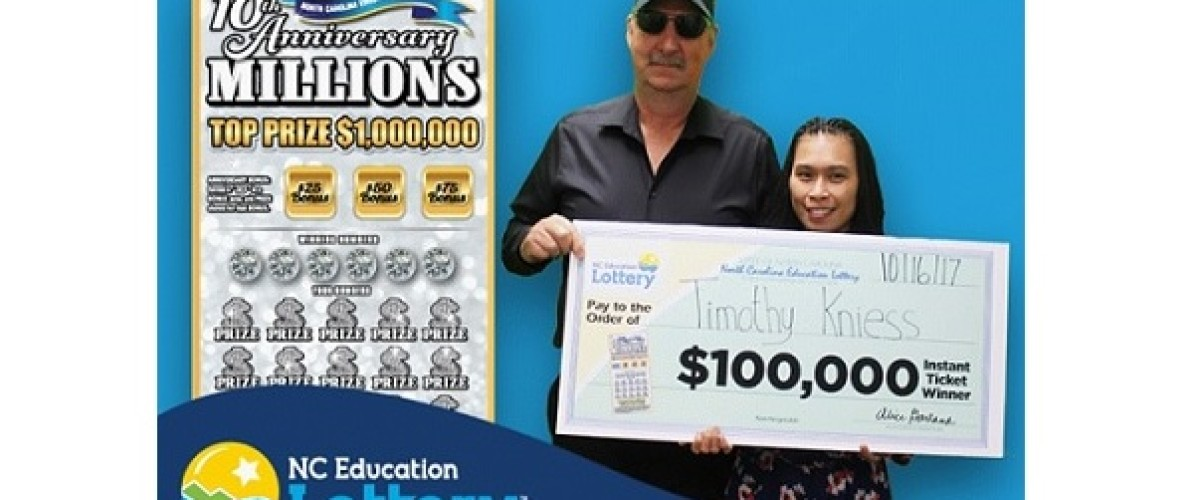 Luckiest man in North Carolina wins on the Education Lottery and survives helicopter crash