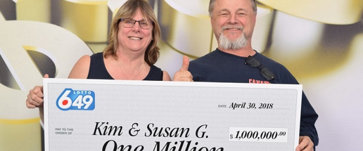 Lucky gambles heading for hawaii after $1m Lotto 6/49 win