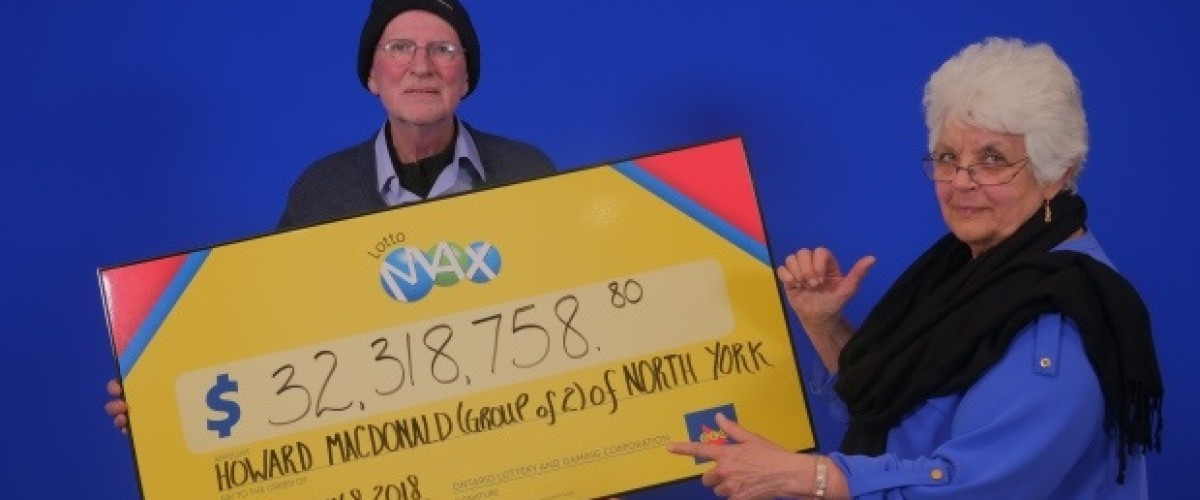 Couple's patience pays off with $32m Lotto Max jackpot