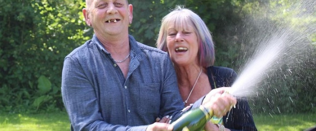 £1m scratchcard winners have differing views on how to spend their windfall