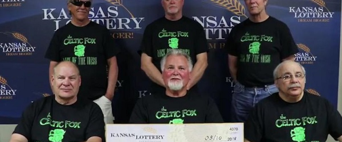 15 years finally paid off for Kansas Powerball Syndicate