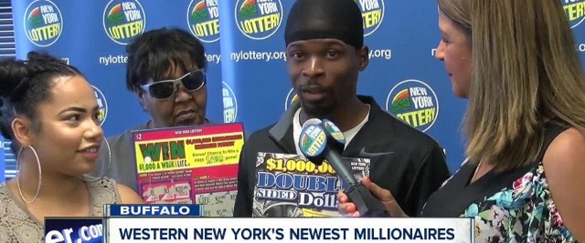 Lucky in love and the lottery on the same day