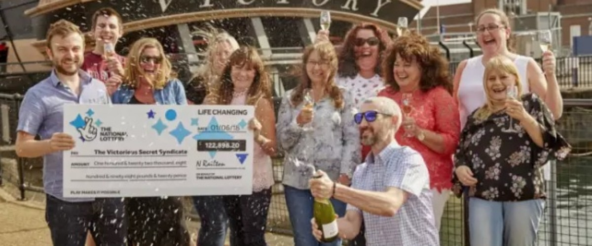 Portsmouth Syndicate Flying High With £122,898.20 EuroMillions Win