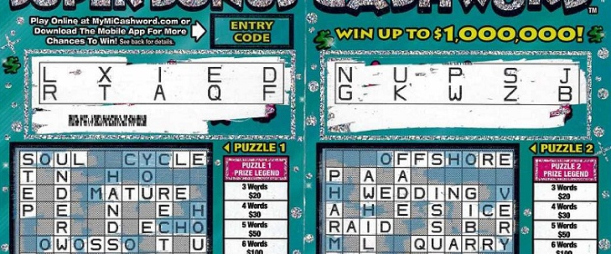 Michigan woman realises she's $1 million richer days after buying scratch card