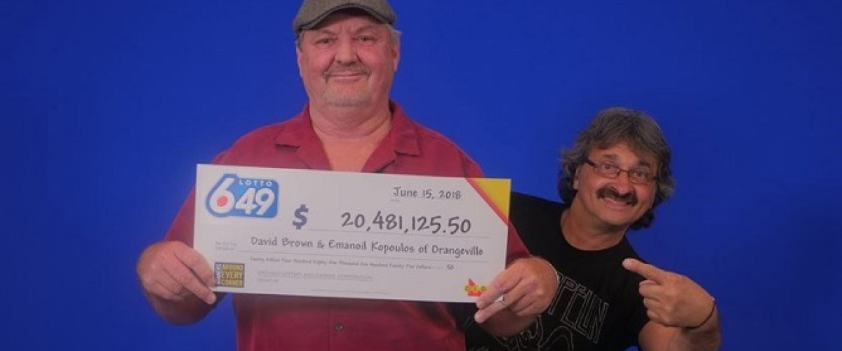 Metal Head Mike Shares $20m Lotto 6/49 Jackpot with Friend