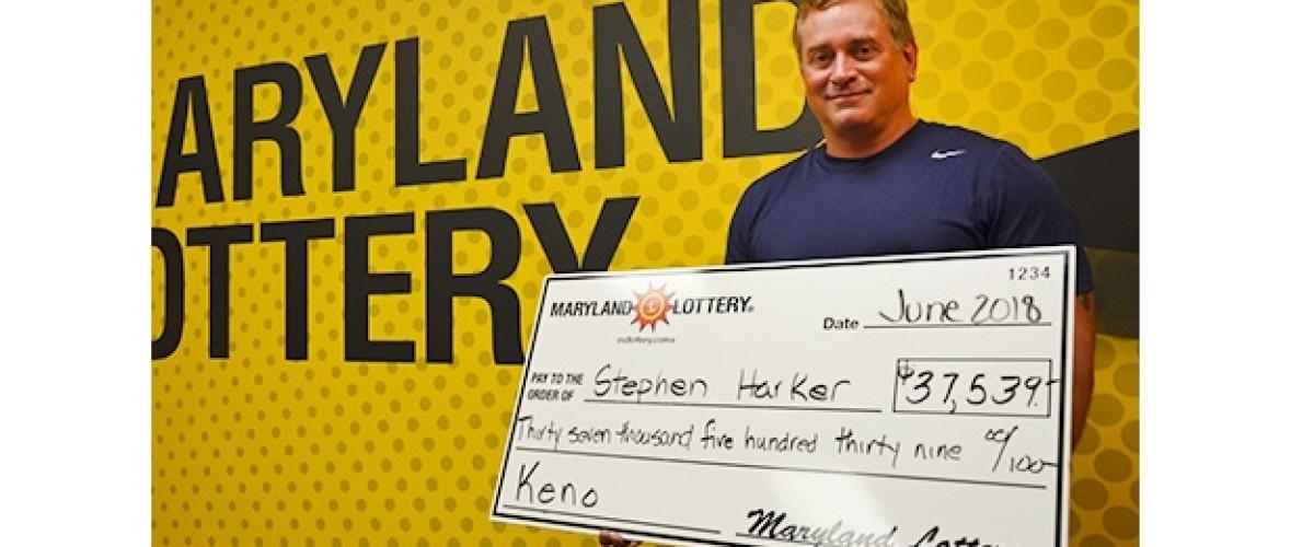 Maryland man wins big Keno prize after kayaking to local bar