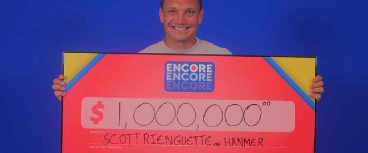 Ontario man 'feels amazing' after winning $1 million on Lotto Max