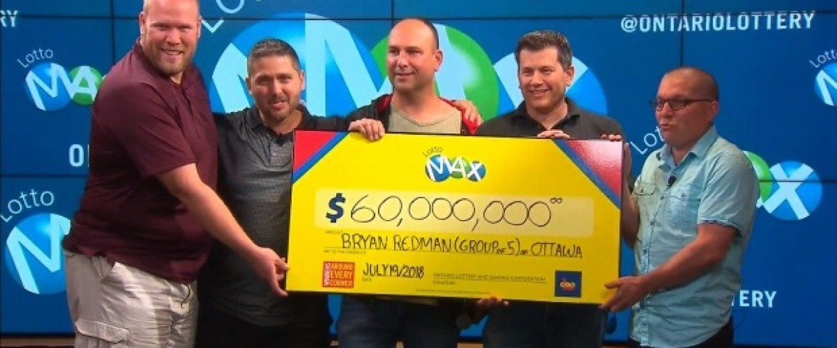 Group Wins $60m Lotto Max Jackpot on Friday the 13th